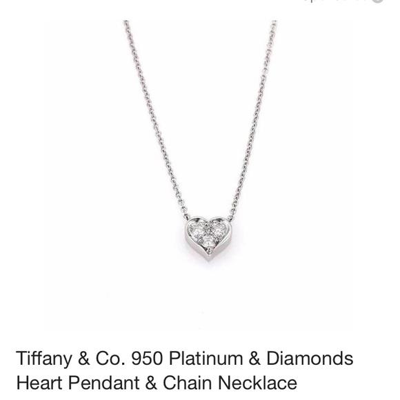 0b7c30c4112bb Tiffany   Co. Diamond Heart Necklace. M 5a9b77659cc7ef92f0f2a12e